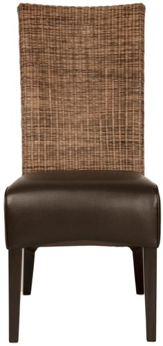 Wicker Vera Dining Chair Set by Orient Express Furniture