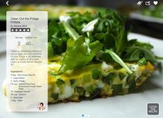 Clean Out the Fridge Frittata for Learn to Cook Month Recipe 3! #LearnToCookMonth #SideChef #stepbystep