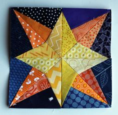 Starry Nights grow – Paper Piecing