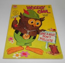 Woodsy Owl- Give A Hoot, Don't Pollute