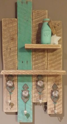 Made from reclaimed wood.. Message me on my Facebook Page for more information. www.facebook.com/inspirationsbydanielle