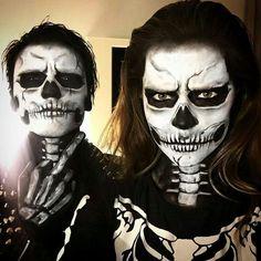 Perfect couple makeup for Halloween
