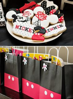 mickey and minnie birthday party