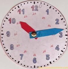Insegnare a leggere l'orologio ai bambini