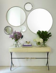 circular mirrors - Google Search