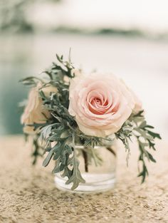 Romantic Eastern Shore Estate Wedding Gallery - Style Me Pretty Small Flower Centerpieces, Small Flower Arrangements, Small Flowers, Garden Wedding Decorations, Engagement Party Decorations, Wedding Table Centerpieces, Graduation Centerpiece, Quinceanera Centerpieces, Candle Centerpieces