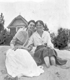 Olga with her friend and her mother's lady-in-waiting, Margarita (Rita/Ritka) Khitrovo in 1915. Rita tried to follow the family to Siberia, but when she arrived the Bolsheviks sent her home.