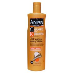 Sampon cu keratina, ulei de argan, shea si jojoba. Argan, Cleaning Supplies, Hair Care, Shampoo, Soap, Bottle, Beauty, Products, Cleaning Agent