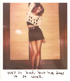 Taylor Swift Polaroid - Wildest Dreams #1989