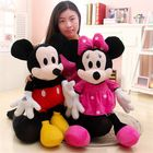 Mickey Mouse And Minnie Mouse Soft Toy !