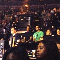 Jay At His Wife's Mrs Carter Show World Tour At O2 Arena London 28.2.2014