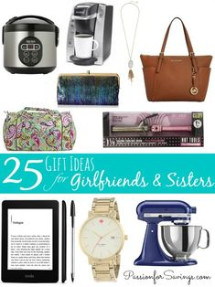 Gift Ideas for Girlfriends! Check out the best gift ideas for women!