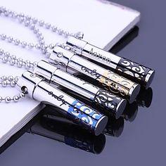 Personalizado+Jóias+Presente+oco+de+aço+inoxidável+gravado+colar+de+pingente+com+60+centímetros+Cadeia+–+BRL+R$+20,25