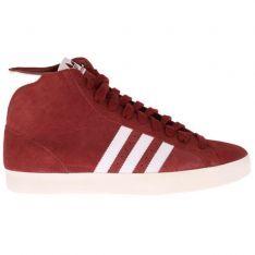 newest d2173 55af7 Adidas Originals Basket Profi Hi Top Trainers Mars Red White Ecr at  Attitude Inc