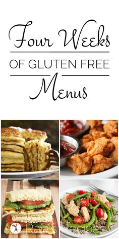 7-Day Gluten-Free Meal Plan | Free meal plans, Gluten free ...