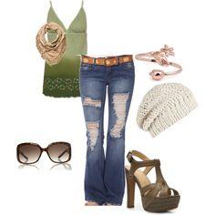 Summer style, created by marsha-nicoll-bullock on Polyvore