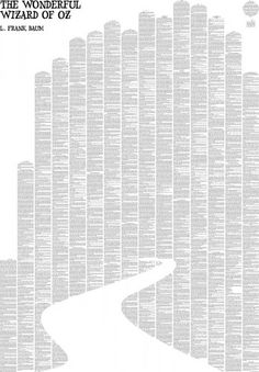 Oz - Art Created from text from the book.