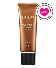 """Best Self-tanner No. 6: Dior Bronze Self-Tanner Natural Glow Body, $40. Why it's great: Reviewers rave about this self-tanner, saying that it gives the impression that """"you have just returned from a weekend vacation."""" They also report that it """"blends easily, dries extremely fast and lasts for four to five days."""""""