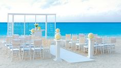 Weddings designed by Colin Cowie exclusively for the All Inclusive Hard Rock Hotels in Mexico & the Dominican Republic