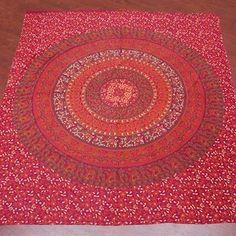 Screen Printed Barmeri Bedspread Tapestry
