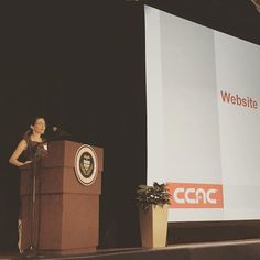 Web Content Manager Amanda Lawson introduces the Website Usability Test at the #CCAC All College Day. Want to help improve the CCAC website? Take the survey on the ccac.edu homepage!