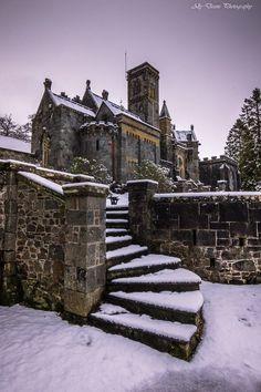 St. Conans Kirk in Winter, Loch Aw, Argyll, Scotland