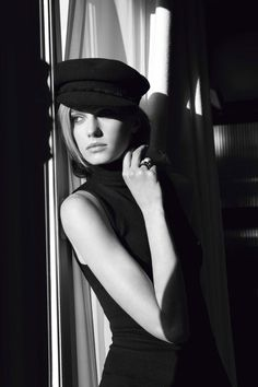 Sigrid Agren's cap and Chanel Ultra ring l #chic #style #Chanel