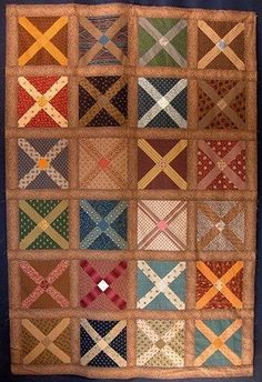Civil War Soldiers Quilt pattern by erna