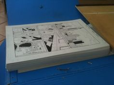 All 124 pages of Dealers stacked up high! http://www.thewebcomicfactory.com/comic/dealers-1-1998-was-the-year/