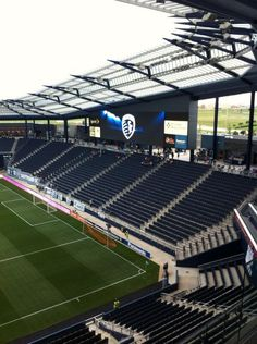 Sporting Park, Kansas City KS. Mls Soccer, Soccer Stadium, Football Stadiums, Stadium Architecture, Architecture Design, Nike Football Boots, Sport Park, Big Building, Kansas City