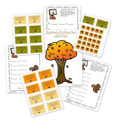 Differentiated Fall Math and ELA First Grade Centers