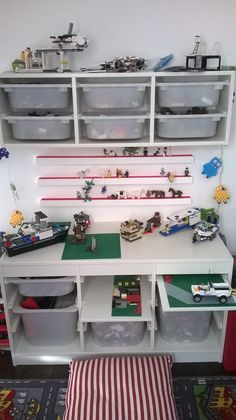 Lego zone, storage, ikea trofast, ideas.