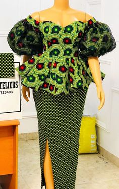 African Wear Dresses, South African Fashion, Latest African Fashion Dresses, African Print Fashion, African Attire, African Prints, African Print Dress Designs, African Design, African Style
