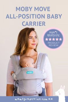 Review: MOBY Move All-Position Baby Carrier #babycarrier #babywearing #mobymove #babyessentials #babymusthaves #babylists Product Tester, Baby Wrap Carrier, Baby Bunting, Baby List, Baby Carriers, Babywearing, Life Savers, Baby Essentials, Mesh Fabric