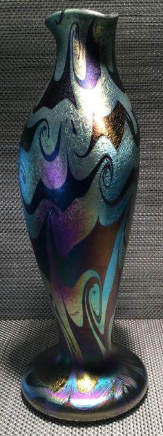 Glass Design, Colored Glass, Art Nouveau, Glass Art, Vase, Sculpture, Ceramics, Antiques, Vintage