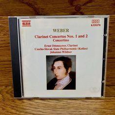 CD weber Clarinet Concertos Nos 1 & 2 Concertino ottensamer wildner philharmonic Cds For Sale, Clarinet, My Ebay, Language, 1, Album, Music, Shop, Concerts