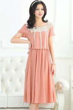 Female-chic Boho Chiffon Dress