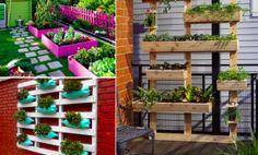 38 idées pour transformer des palettes de bois en de magnifiques jardinières!