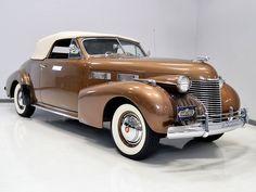 1940 Cadillac 62 Convertible Coupe