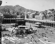 In sha allah, mekkah Mecca Madinah, Mecca Kaaba, Masjid Al Haram, Abu Dhabi, Mekkah, World Religions, Islamic Architecture, Saudi Arabia, Old Photos