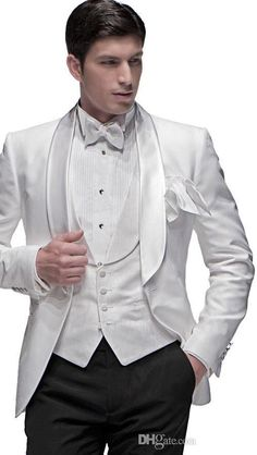 >> Click to Buy << Custom Made Mens Wedding Suits Groom Suits Best Man Tuxedos Business Suits New #Affiliate