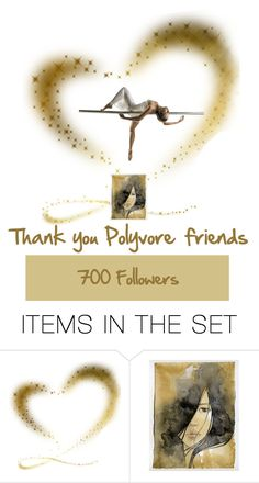 """""""Thank you"""" by pilpanher ❤ liked on Polyvore featuring art"""