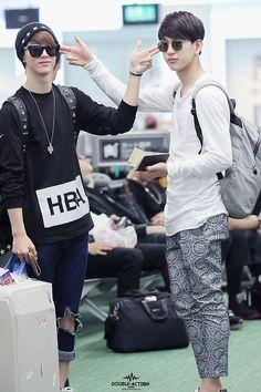 Mark and Jinyoung - Got7