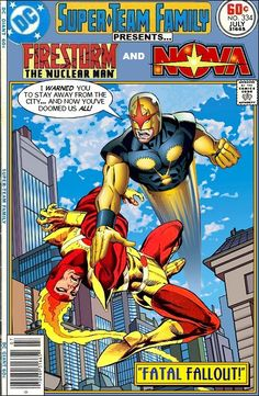 Super-Team Family: The Lost Issues!: Firestorm and Nova