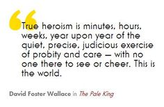 """David Foster Wallace, """"The Pale King"""""""