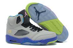 dfe315d5cd6d New Air Jordan 5 Retro Bel Air Cool Grey Court Purple Game Royal Club Pink  Mens Sneakers
