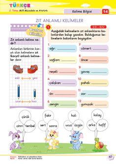 2. Sınıf Soru Bankası Türkçe Süper Kitap Arabic Language, Learning Arabic, Homework, Preschool, Education, Pictures, Kid Garden, Kindergarten, Onderwijs