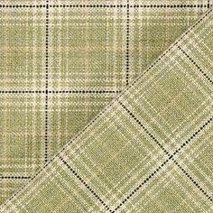 Checks Olivia - Poliéster - Lã virgem - oliva claro
