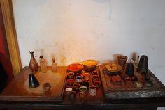 pigments in Rembrandt's studio