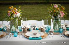 Beautiful table pieces « Bollea – Floral Design Gallery